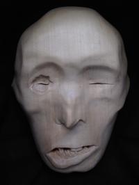 Tibetan Monk Mask